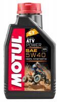 Масло моторное MOTUL ATV POWER 5W40 4т 1л