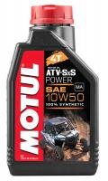 Масло моторное MOTUL ATV SxS POWER 4т 10W50 1л